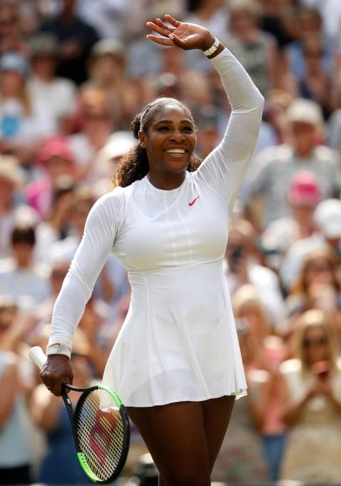 Serena Williams July 2018