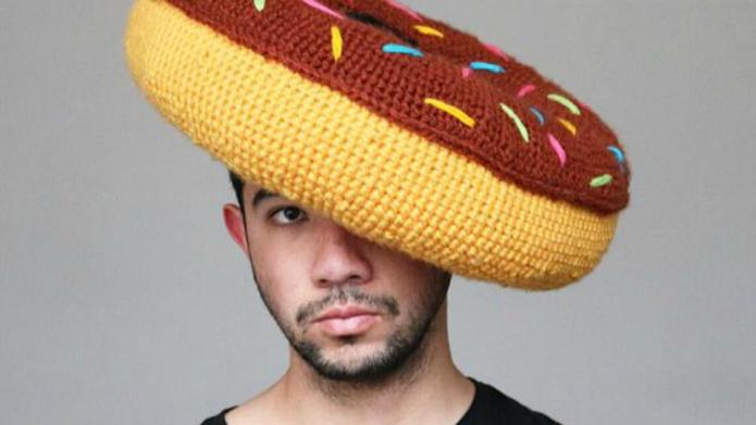 Instagrammer's crocheted food hats will put