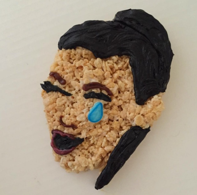 Mister Krisp's Rice Krispies creations