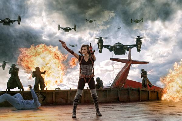 Resident Evil guns down No. 1