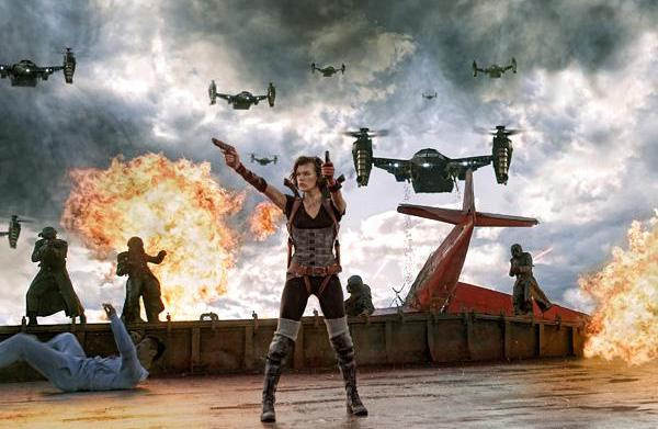 Resident Evil guns down No. 1