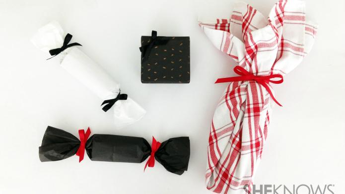 3 Clever ways to wrap gift