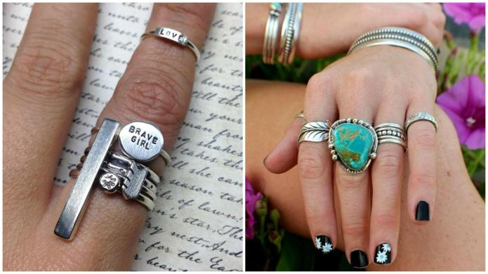 Exactly how to stack your rings