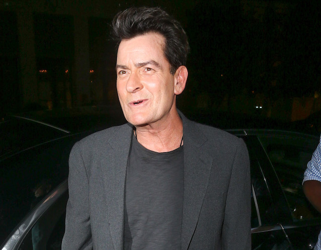 Charlie Sheen is seen on January 09, 2017 in Los Angeles, California