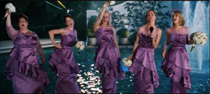 Wedding scene from 'Bridesmaids'