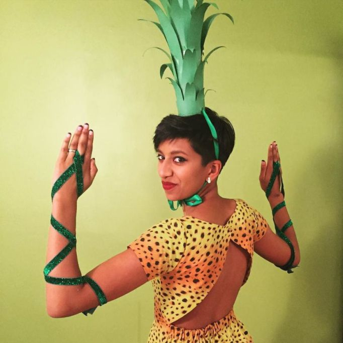 DIY Halloween Costume Ideas from Instagram: A Pineapple | Halloween 2017