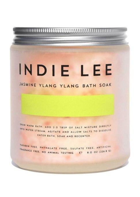 Decadent Bath Products To Try | Indie Lee Jasmine Ylang Ylang Bath Soak