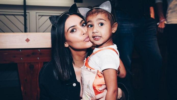 How Kim Kardashian West Bribes North