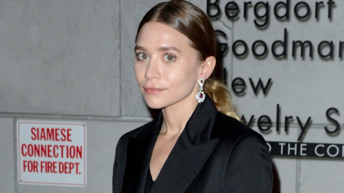 Ashley Olsen's hiking buddy has the