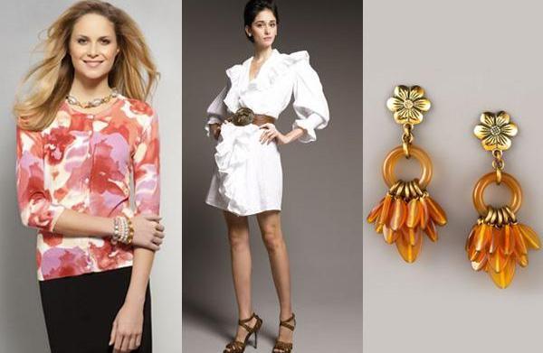 3 Flirty, feminine spring trends