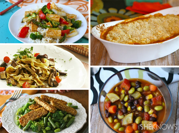 Meatless meal ideas from SheKnows.com