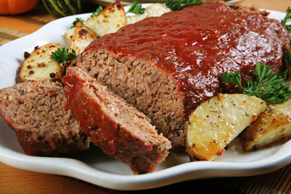 Meatloaf and Potatoes
