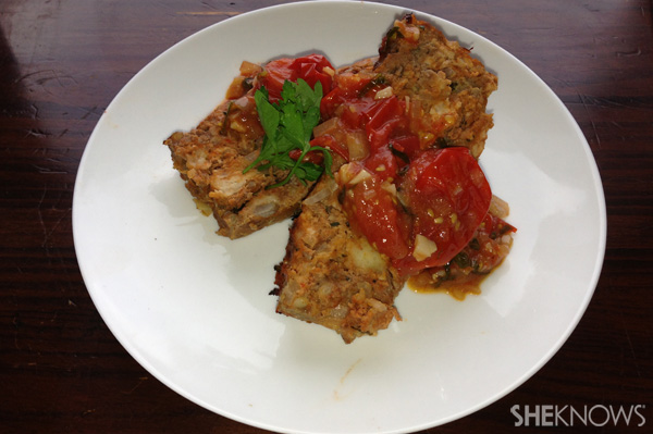 Meatloaf with ketchup from SheKnows