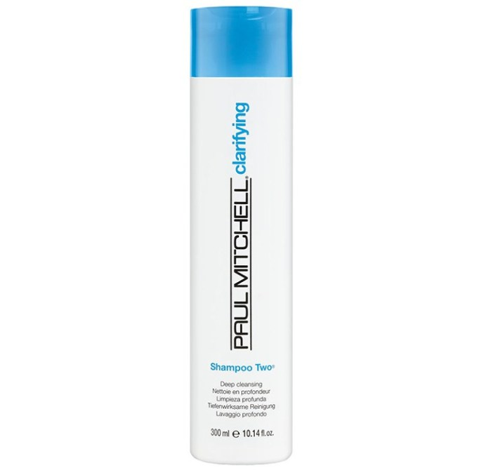 Products That Get Rid of Greasy Hair Fast   Paul Mitchell Shampoo Two