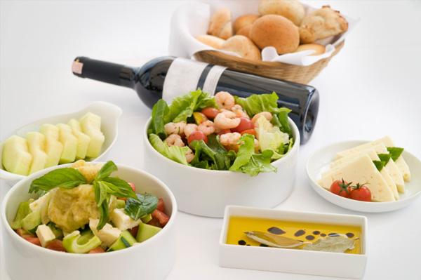 Medditerranean Food and Wine