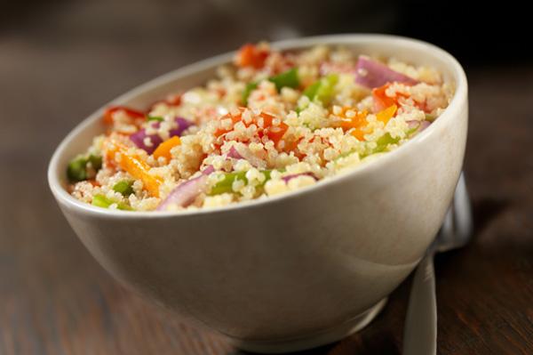 quinoa and veggies