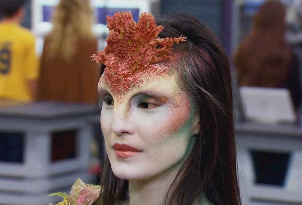 Meg Wilbur's winning Foundation challenge makeup