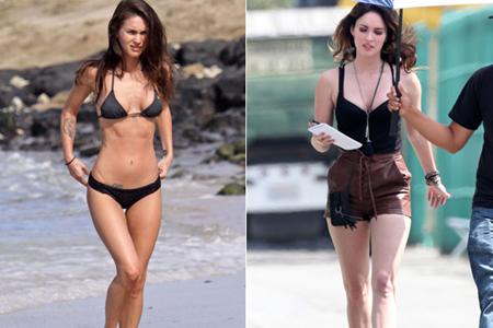 Megan Fox weight gain