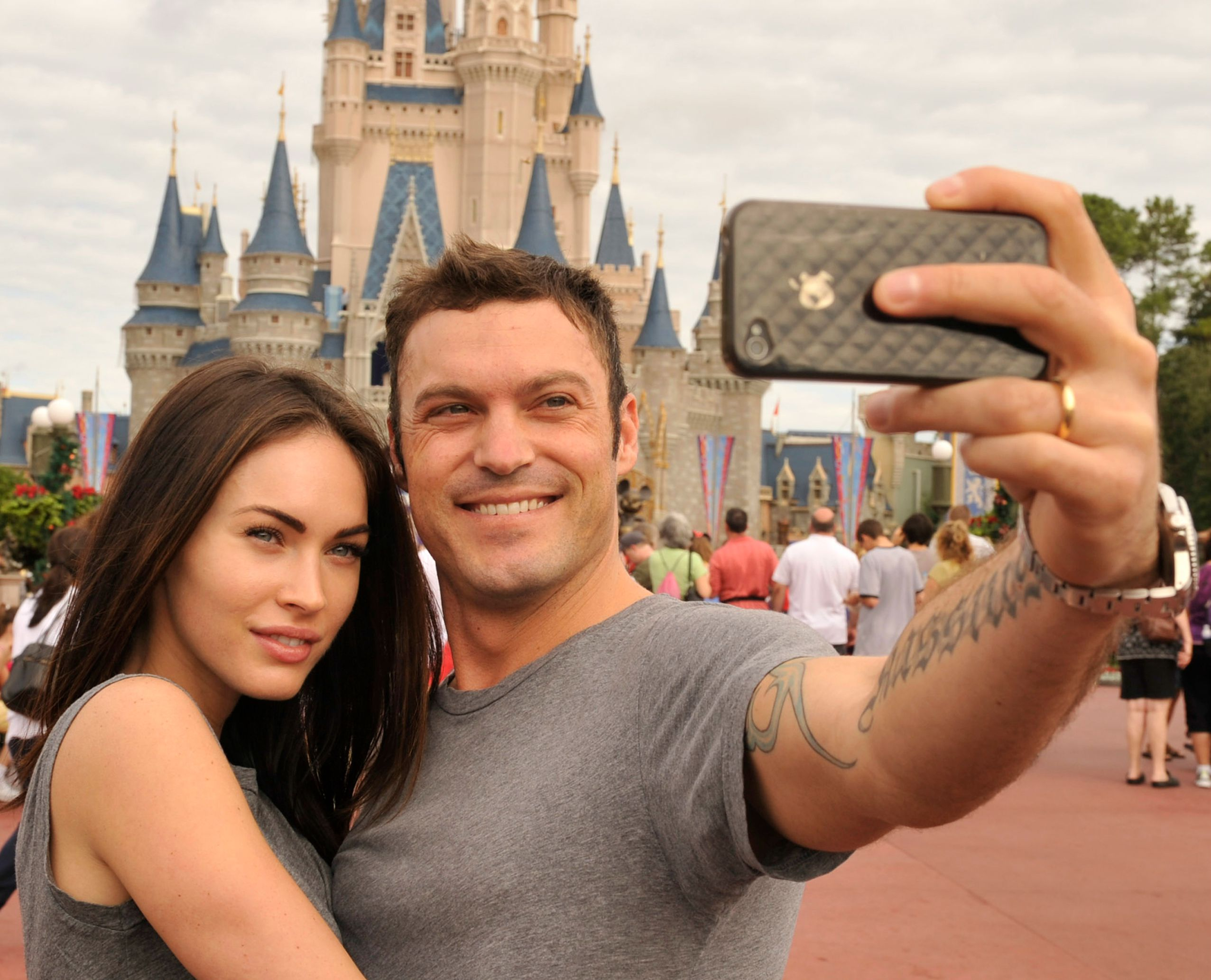 Megan Fox and Brian Austin Green 2010