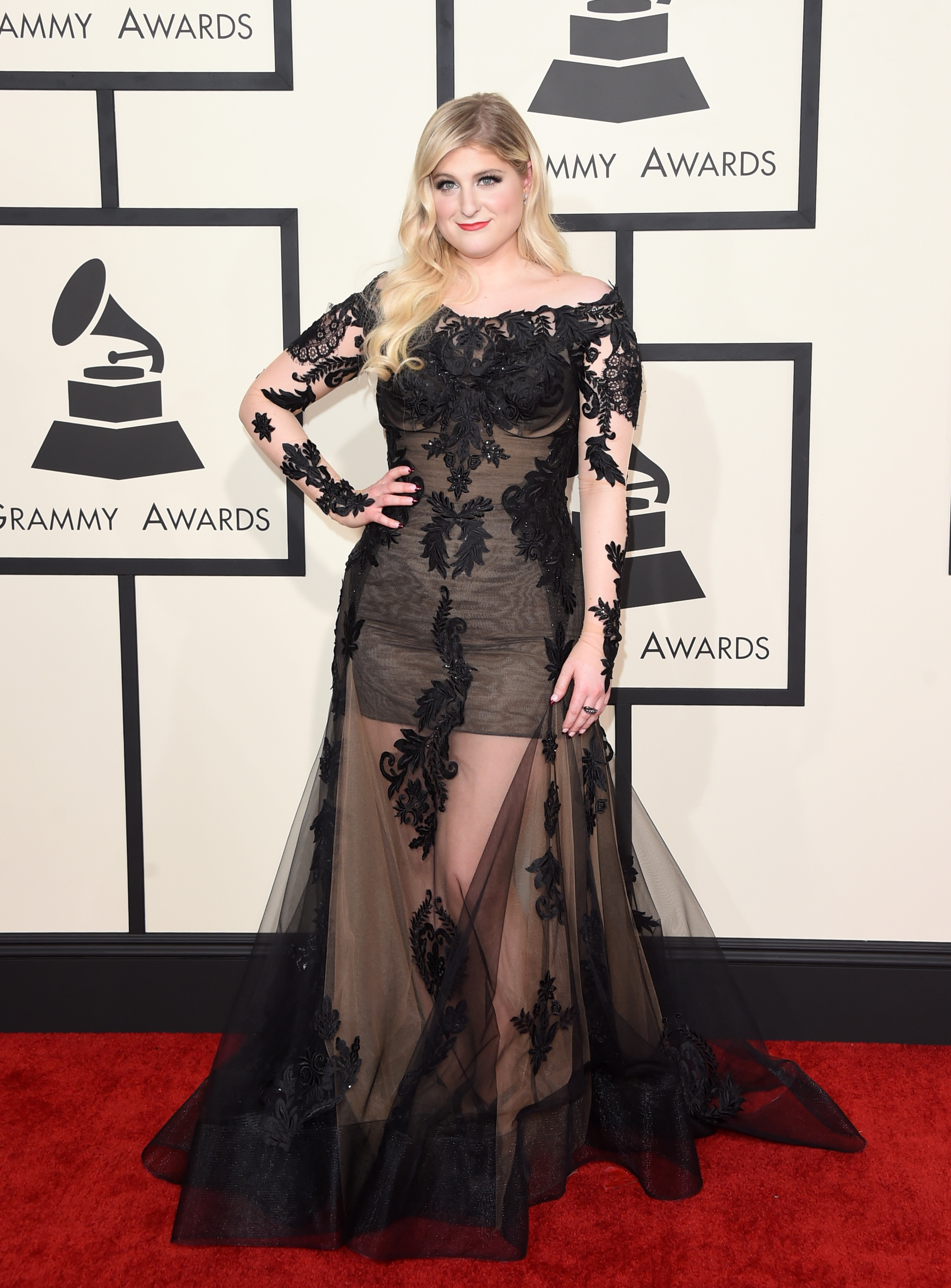 What Meghan Trainor Taught Girls With Her Grammys Dress