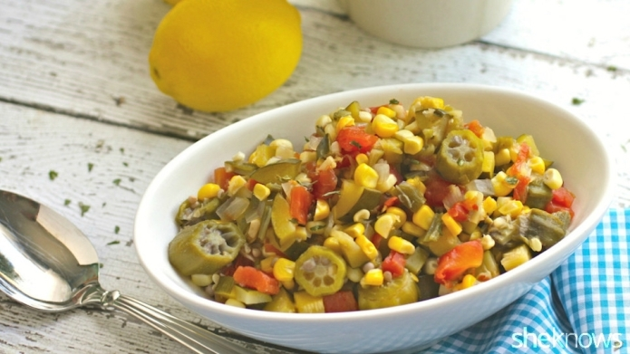 Slow Cooker Sunday: Vegetable succotash showcases
