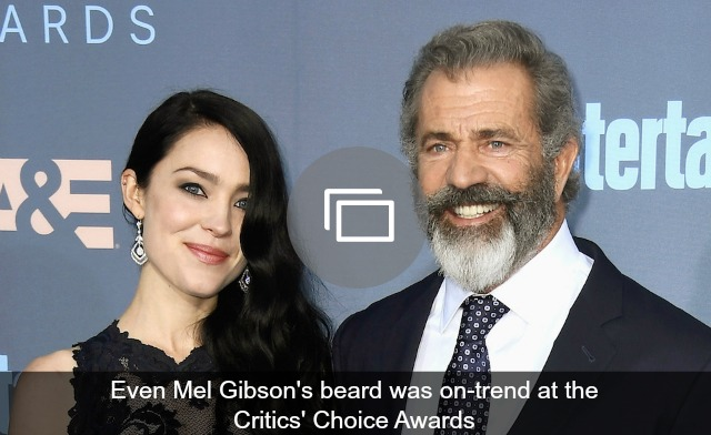 Mel Gibson Critics' Choice Awards