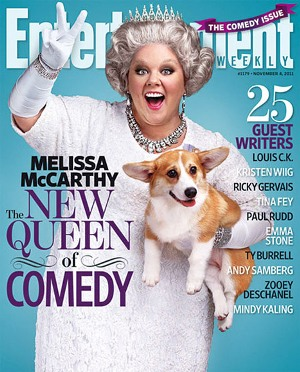 Melissa McCarthy -- Entertainment Weekly