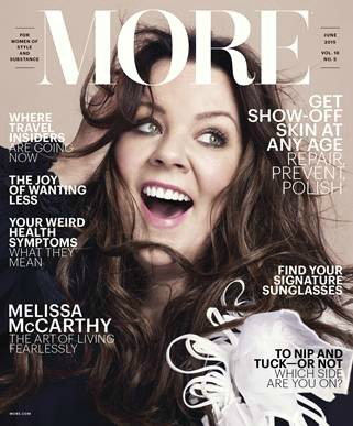 Melissa McCarthy interview with More magazine