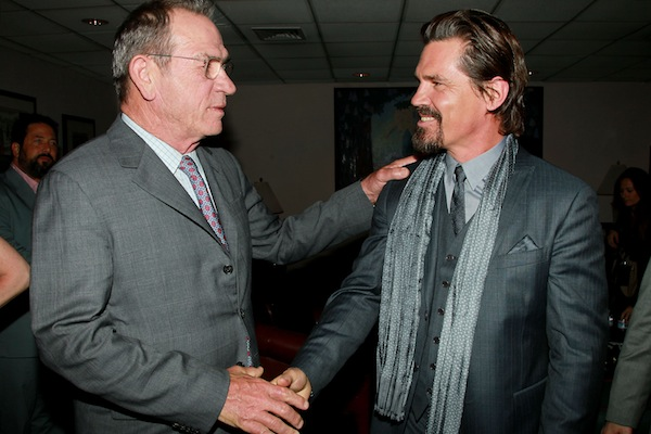 Tommy Lee Jones and Josh Brolin