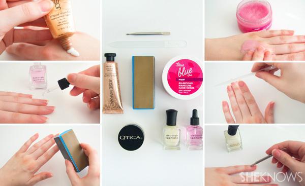 5-Step natural nail manicure