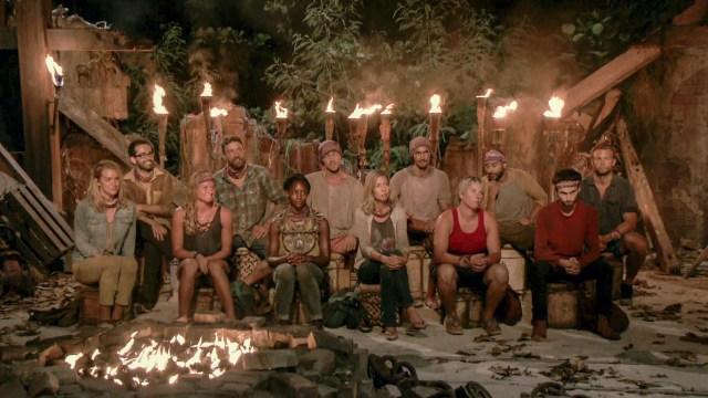 Merge tribe at Tribal Council on Survivor: Heroes Vs. Healers Vs. Hustlers