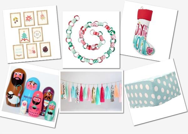 Merry and bright - Christmas nursery decor