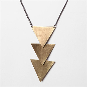 Tiered Geometric Necklace from Urban Outfitters