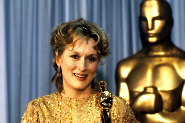 Meryl Streep wins Best Actress in 1982