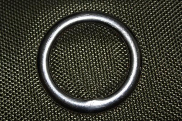 metal shower ring