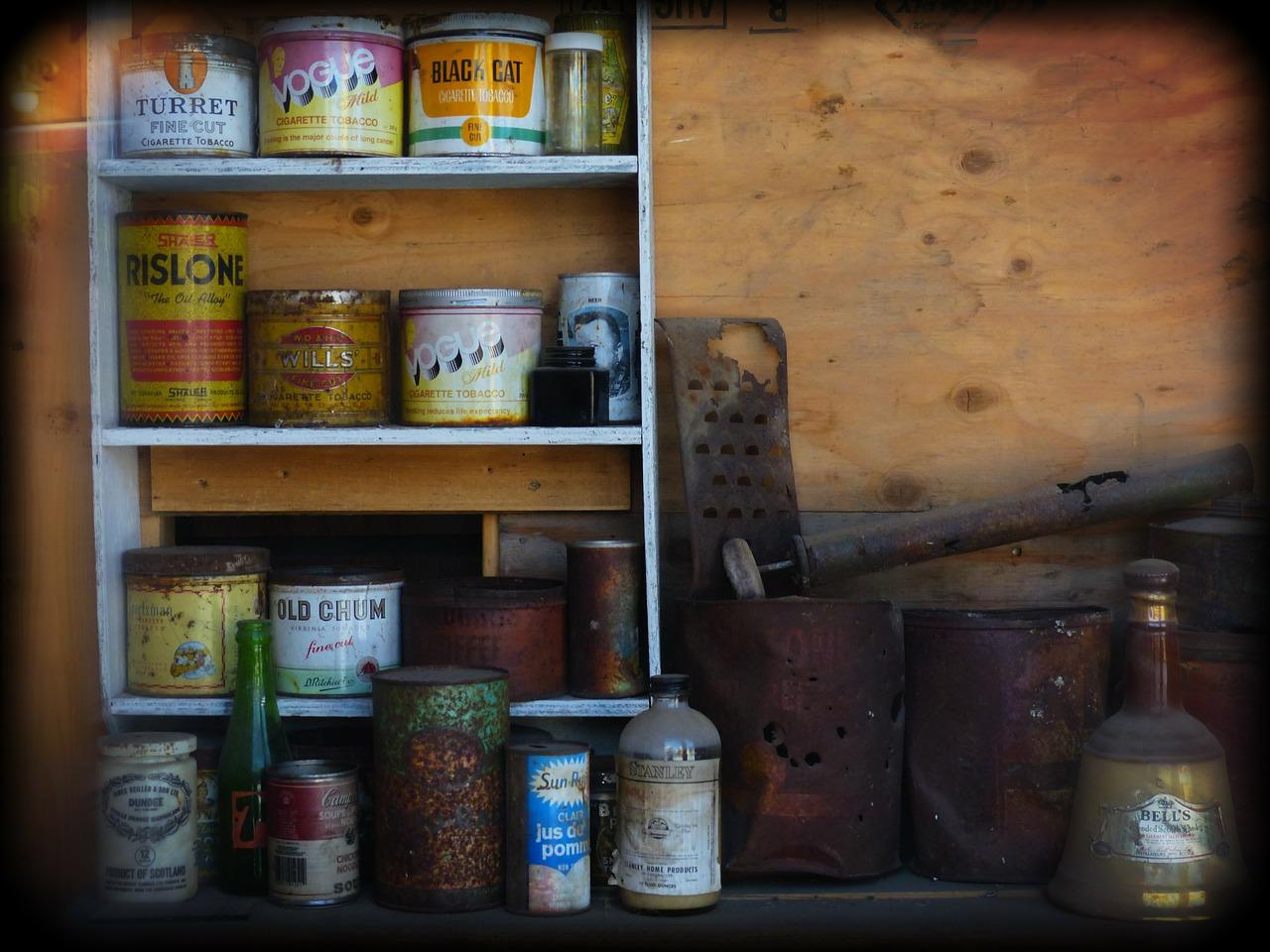 garden shed organization