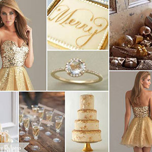 Gold sparkle palette | Sheknows.ca