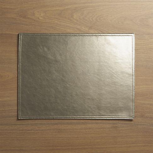 metallic tablemat