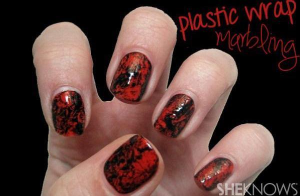 Halloween nail tutorial