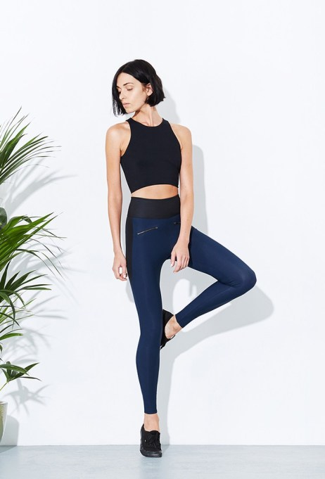 Activewear Brands You Should Definitely Know: ADAY Their Throw it Higher Leggings | Summer Fitness 2017