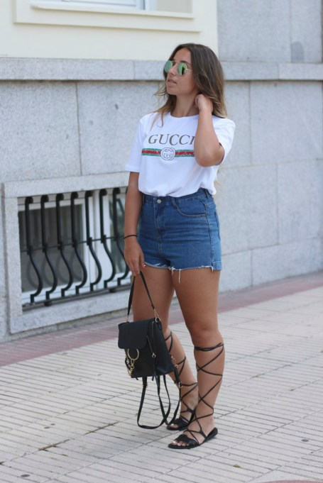 Shorts Outfits to Sport All Summer Long   Summer Style 2017
