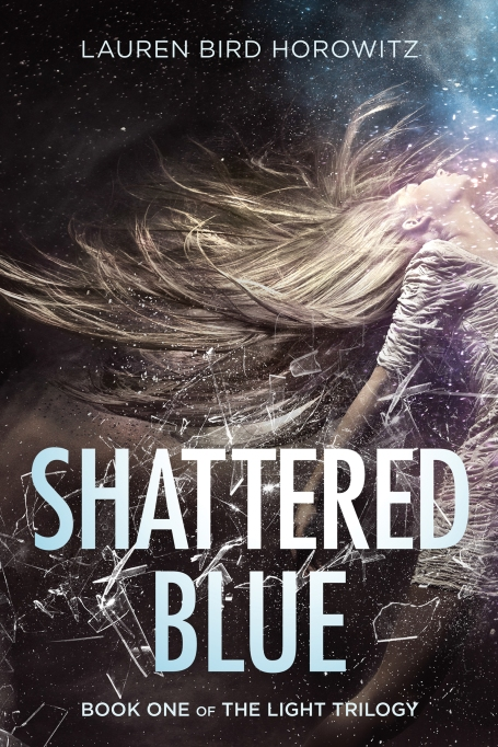 Shattered Blue book cover
