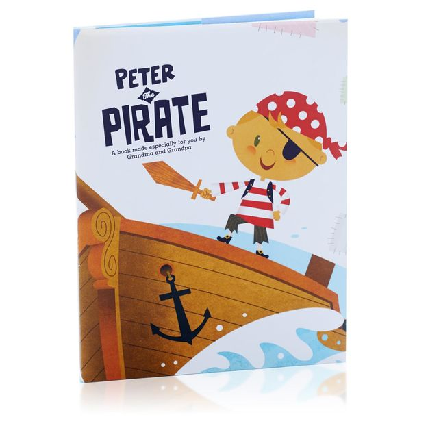 Pirate-Inspired Gifts For Your Littlest Mate: Hallmark Personalized Pirate Book