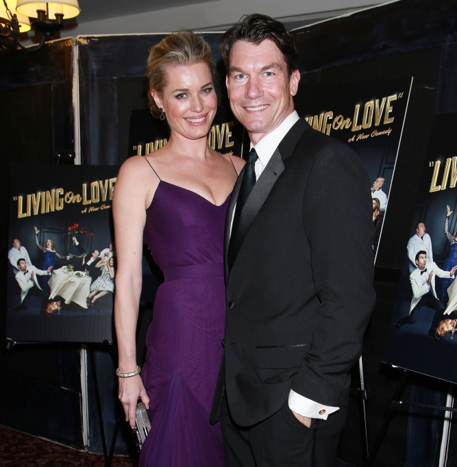 Jerry O'Connell with wife Rebecca Romijn