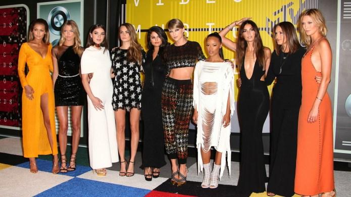 Taylor Swift, Gigi Hadid and Cara