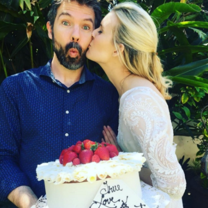 Celebrities who got married in 2017: Maggie Grace & Brent Bushnell
