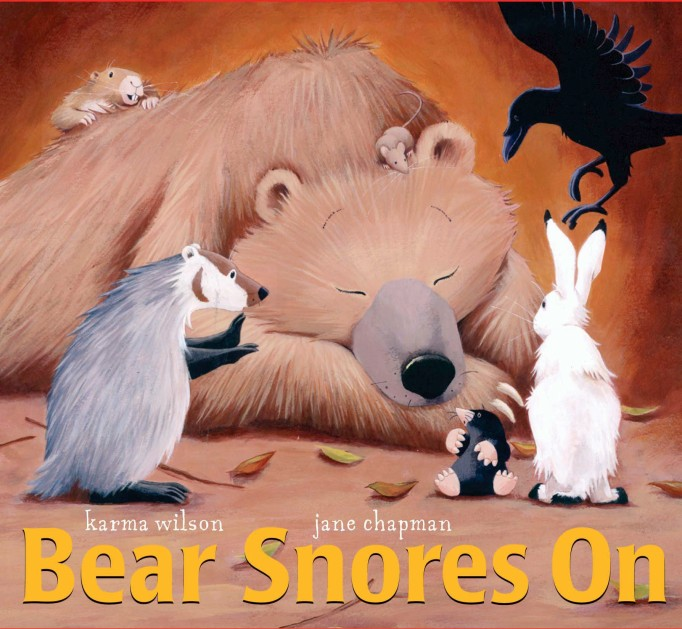Rhyming Books For Early Readers And Young Poets: Bear Snores On