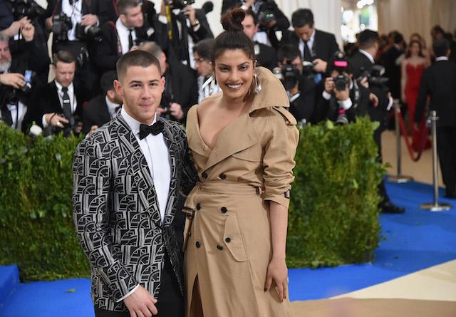 Nick Jonas and Priyanka Chopra at the 2017 Met Gala