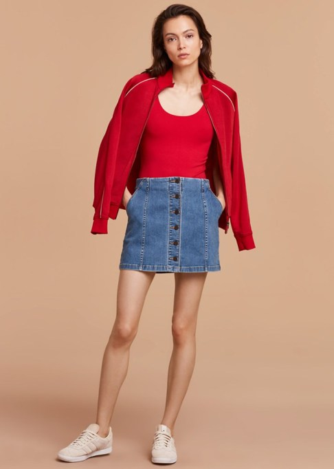 The Most-Pinned Summer Fashion Trends of 2017: Wilfred Free Ahrens Skirt | Summer Fashion Trends