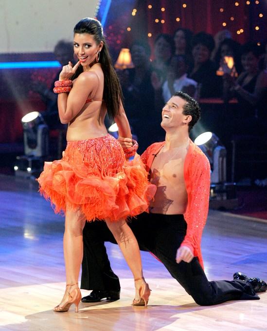 Kim Kardashian on Dancing with the Stars